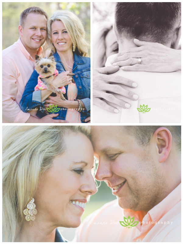 Spring Romantic Golden Hour Spring Engagement Session {Marion, IA Engagement Photographer}  Photo